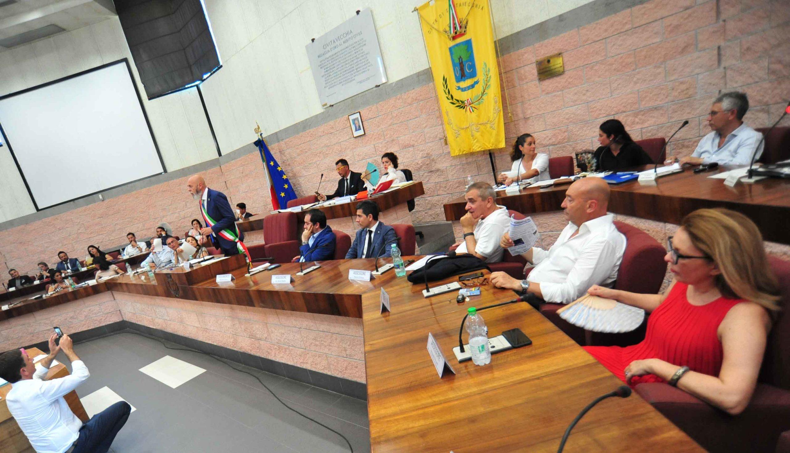 Civitavecchia - Primo consiglio comunale e prime surroghe. Serpa ...