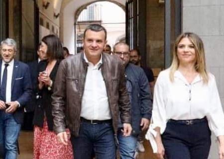 Roberta Tardani con il ministro Centinaio