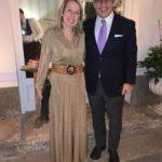 Anglo Landi, presidente panathlon viterbo e Paola Melis avvocato e scrittrice