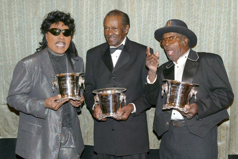 Little Richard, Chuck Berry e Bo Diddley a Beverly Hills, 2002